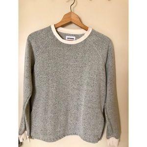 NWT Converse Pullover Gray/Cream Size S